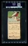 1911 T201 Mecca  Hughie Jennings / Ed Summers  Back Thumbnail