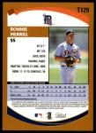 2002 Topps Traded #129 T Ronnie Merrill  Back Thumbnail