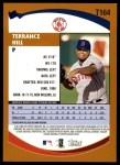 2002 Topps Traded #164 T Terrance Hill  Back Thumbnail