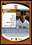 2002 Topps Traded #194 T Rolando Viera  Back Thumbnail