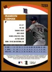 2002 Topps Traded #233 T Franklyn German  Back Thumbnail
