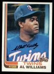 1982 Topps #69  Al Williams  Front Thumbnail