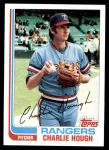 1982 Topps #718  Charlie Hough  Front Thumbnail