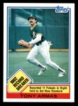 1983 Topps #1   -  Tony Armas Record Breaker Front Thumbnail