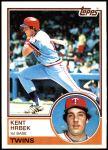 1983 Topps #690  Kent Hrbek  Front Thumbnail