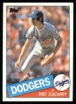 1985 Topps #57  Pat Zachry  Front Thumbnail