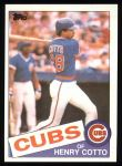 1985 Topps #267  Henry Cotto  Front Thumbnail
