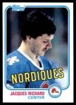 1981 Topps #29  Jacques Richard  Front Thumbnail