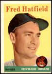 1958 Topps #339  Fred Hatfield  Front Thumbnail