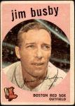 1959 Topps #185  Jim Busby  Front Thumbnail