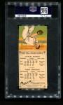 1911 T201 Mecca  Charles Hickman / Larry Hinchman  Back Thumbnail