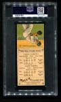 1911 T201 Mecca  Kid Elberfeld / George McBride  Back Thumbnail