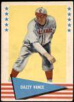 1961 Fleer #81  Dazzy Vance  Front Thumbnail