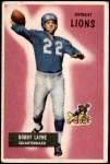 1955 Bowman #71  Bobby Layne  Front Thumbnail