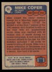 1985 Topps #55  Michael Cofer  Back Thumbnail