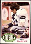 1976 Topps #527  Blaine Nye  Front Thumbnail