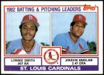 1983 Topps #561   -  Joaquin Andujar / Lonnie Smith Cardinals Leaders Front Thumbnail