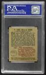 1948 Bowman #8  Mel Riebe  Back Thumbnail