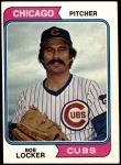 1974 O-Pee-Chee #62  Bob Locker  Front Thumbnail