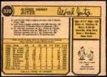 1974 O-Pee-Chee #328  Skip Jutze  Back Thumbnail