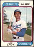 1974 O-Pee-Chee #658  Lee Lacy  Front Thumbnail