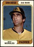 1974 O-Pee-Chee #387  Rich Morales  Front Thumbnail