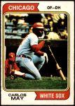 1974 O-Pee-Chee #195  Carlos May  Front Thumbnail