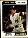 1974 O-Pee-Chee #274  Fred Beene  Front Thumbnail