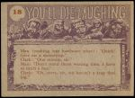 1959 You'll Die Laughing #18   I've got just the gift Back Thumbnail