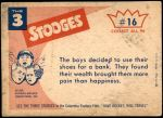1959 Fleer Three Stooges #16 REG  You Can't Keep Your Money Back Thumbnail