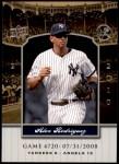 2008 Upper Deck Yankee Stadium Legacy #6720  Alex Rodriguez  Front Thumbnail