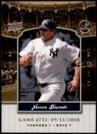 2008 Upper Deck Yankee Stadium Legacy #6733  Jason Giambi  Front Thumbnail