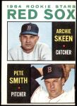 1964 Topps #428   -  Pete Smith / Archie Skeen Red Sox Rookies Front Thumbnail