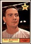 1961 Topps #209  Ken McBride  Front Thumbnail