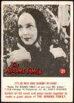 1964 Donruss Addams Family #31 AM  It's nice and gloomy here Front Thumbnail