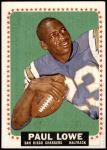 1964 Topps #165  Paul Lowe  Front Thumbnail