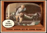 1961 Topps #38   -  Paul Hornung 1960 Football Highlights Front Thumbnail