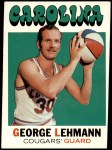 1971 Topps #192  George Lehmann  Front Thumbnail