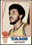 1973 Topps #253  Lee Davis  Front Thumbnail