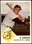 1963 Fleer #39  Al Spangler  Front Thumbnail