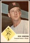 1963 Fleer #11  Dick Donovan  Front Thumbnail