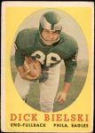1958 Topps #111  Dick Bielski  Front Thumbnail