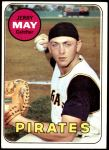1969 Topps #263  Jerry May  Front Thumbnail