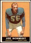 1961 Topps #36  Joe Schmidt  Front Thumbnail