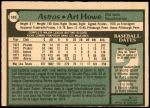 1979 O-Pee-Chee #165  Art Howe  Back Thumbnail