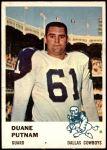 1961 Fleer #46  Duane Putnam  Front Thumbnail