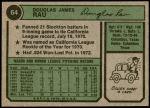 1974 Topps #64  Doug Rau  Back Thumbnail