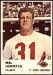 1961 Fleer #20  Mal Hammack  Front Thumbnail
