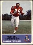 1962 Fleer #8  Bob Dee  Front Thumbnail