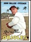 1967 Topps #141  John Miller  Front Thumbnail